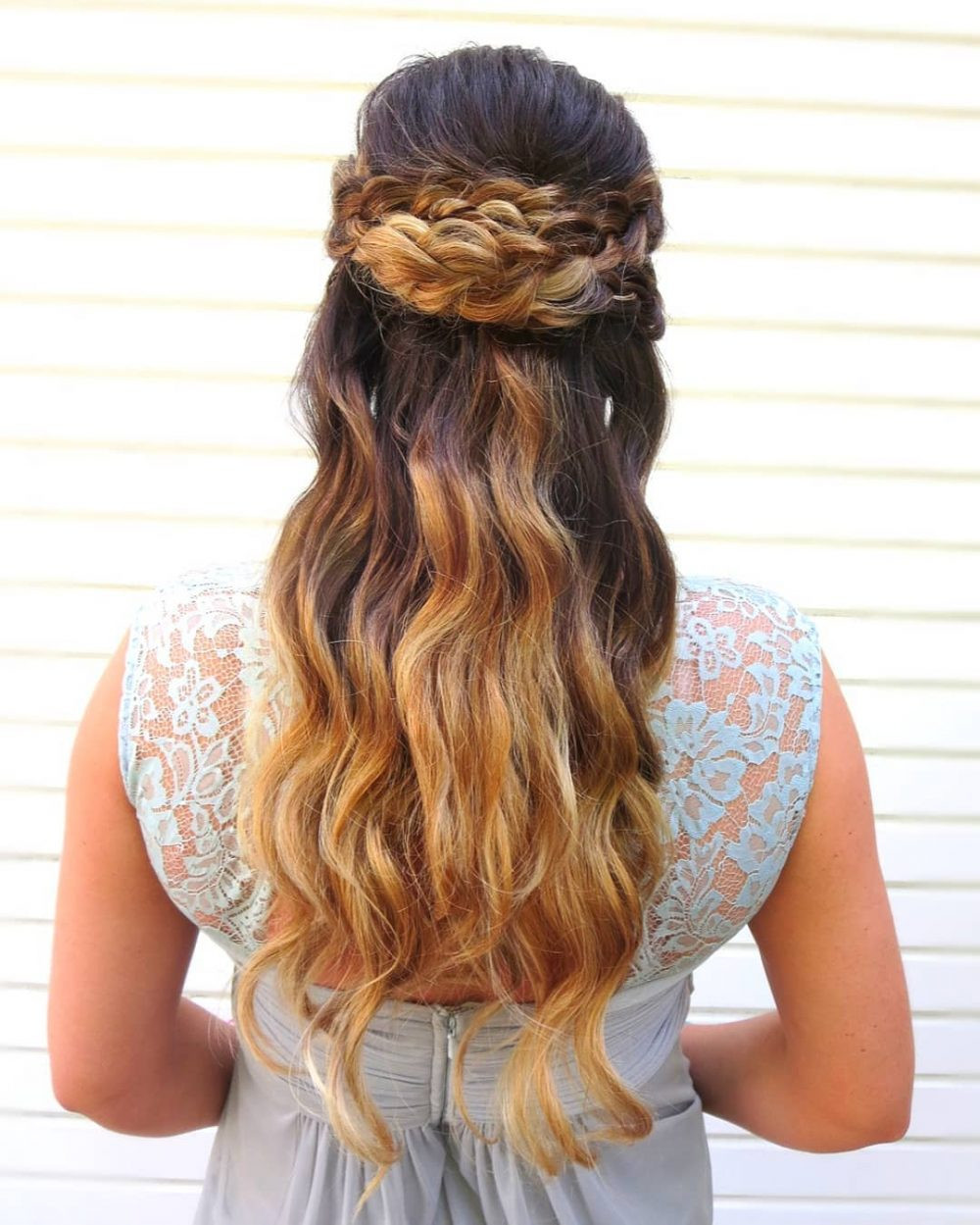Prom Hairstyle Half Up  Half Up Half Down Prom Hairstyles and How To s