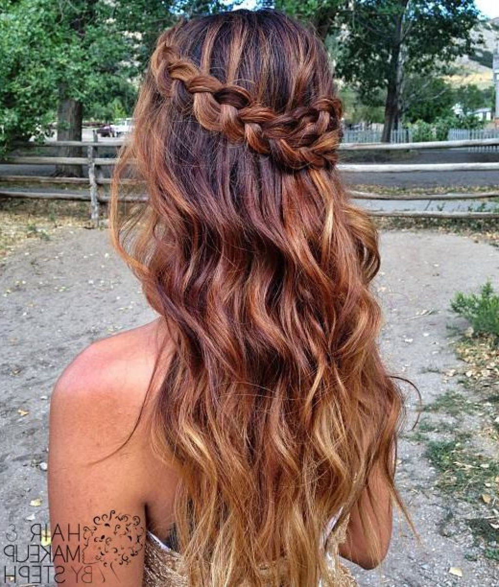 Prom Hairstyle Half Up  Pretty hairstyles for Prom Hairstyles For Long Hair Half