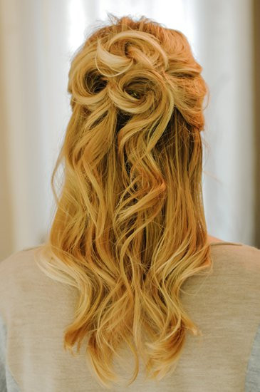 Prom Hairstyle Half Up  Prom Hairstyles