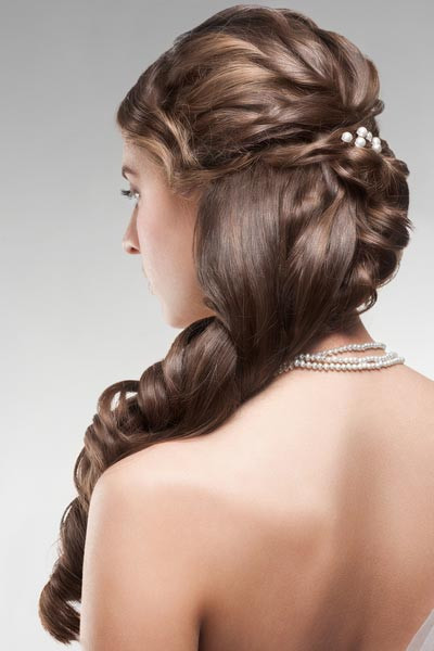 Prom Hairstyle Half Updo  Updo Hairstyles For Prom