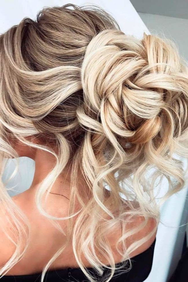 Prom Hairstyle Half Updo  Best 2017 Updo Hairstyles For Prom Night La s Show