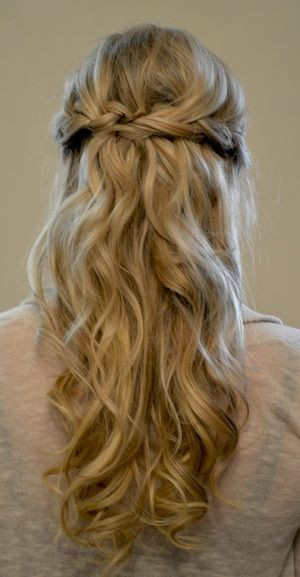 Prom Hairstyle Half Updo  Half Updo Prom Hairstyles 2015 For Long Hair