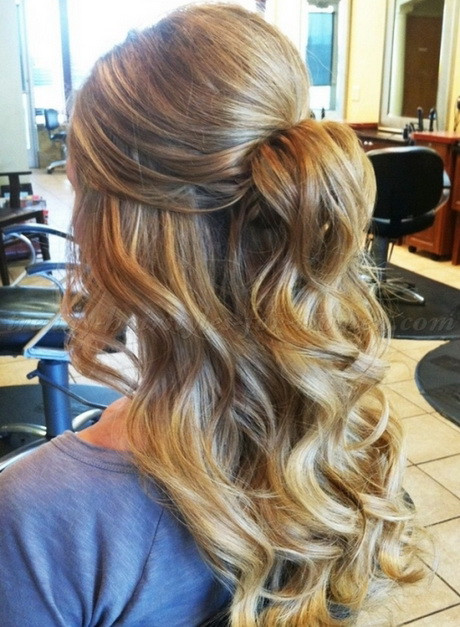 Prom Hairstyle Half Updo  Prom hairstyles half updos
