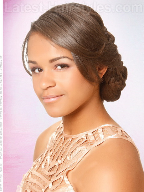 Prom Hairstyles Black Girls  Black girls prom hairstyles