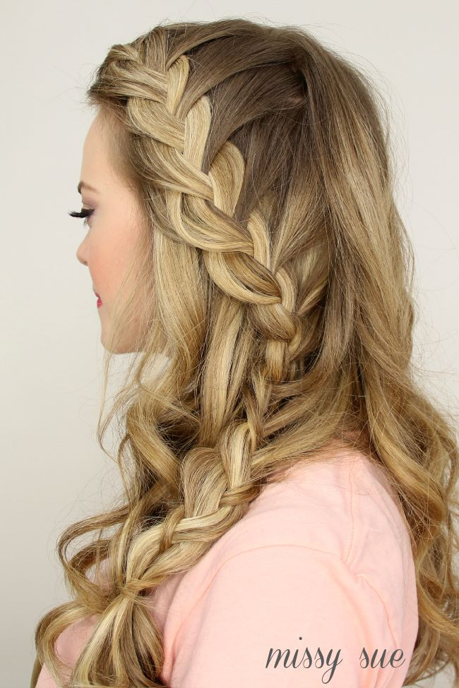 Prom Hairstyles Down Medium Hair  50 Gorgeous Half Up Half Down Hairstyles Perfect for Prom