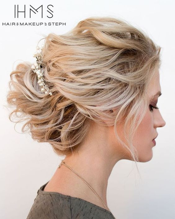 Prom Hairstyles For Medium Hair  25 Cute Easy Updos for Short Hair 2016 – 2017