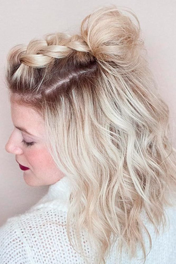 Prom Hairstyles For Medium Hair  easy prom hairstyles for short curly hair Choices of