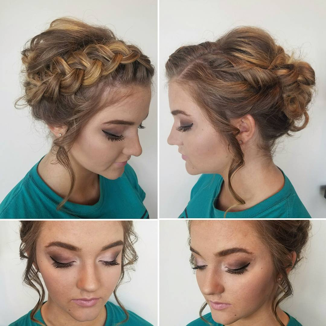 Prom Hairstyles For Medium Hair Up  20 Gorgeous Prom Hairstyle Designs for Short Hair Prom