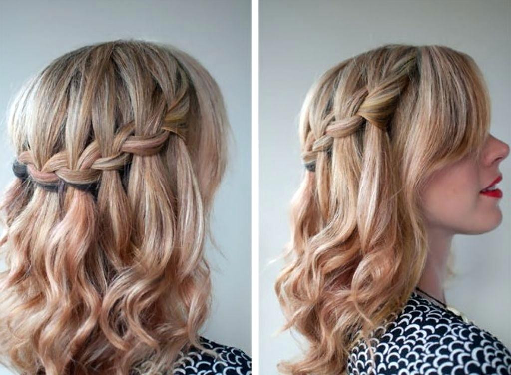 Prom Hairstyles For Medium Hair Up  Unique Prom Hairstyles For Medium Hair Half Up Half Down