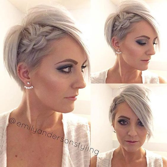Prom Hairstyles For Pixie Cuts  20 Gorgeous Prom Hairstyle Designs for Short Hair Prom