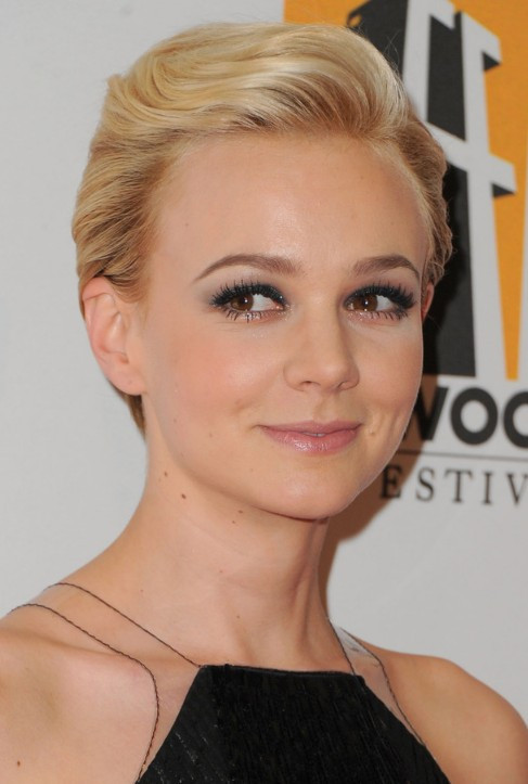 Prom Hairstyles For Pixie Cuts  Formal b Back Pixie Cut Carey Mulligan Hairstyle