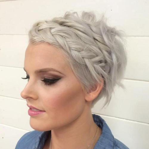 Prom Hairstyles For Pixie Cuts  40 Hottest Prom Hairstyles for Short Hair