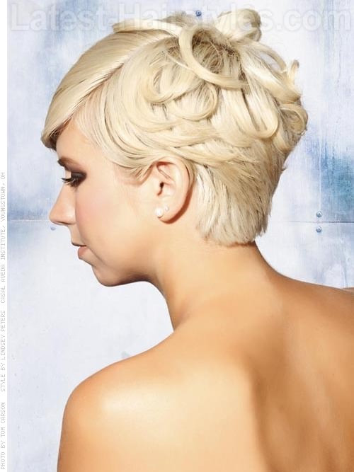 Prom Hairstyles For Pixie Cuts  Best Pixie Cut Hairstyles For Prom 2017