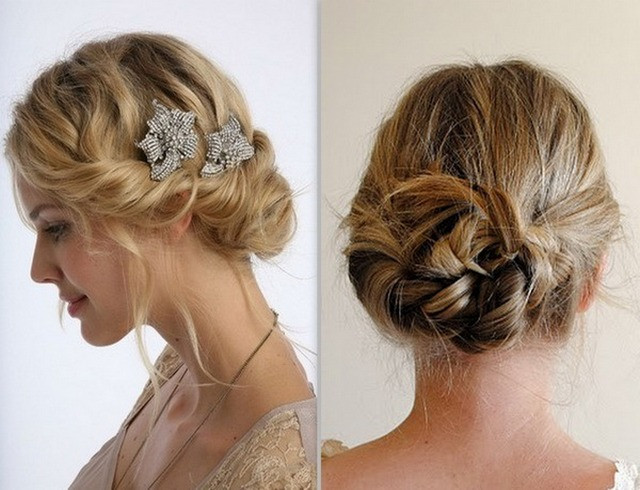 Prom Hairstyles For Thin Hair  Updo Hairstyles For Thin Hair Prom