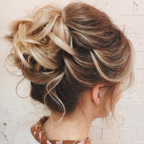 Prom Hairstyles For Thin Hair  50 Dreamy Home ing Hairstyles