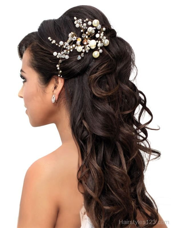 Prom Hairstyles Up  Prom Half Up Hairstyle