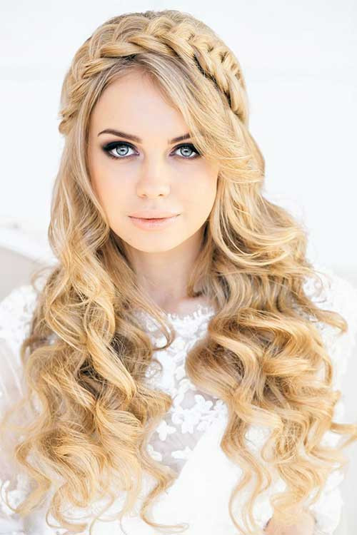 Prom Hairstyles With Braid  40 Hairstyles for Prom