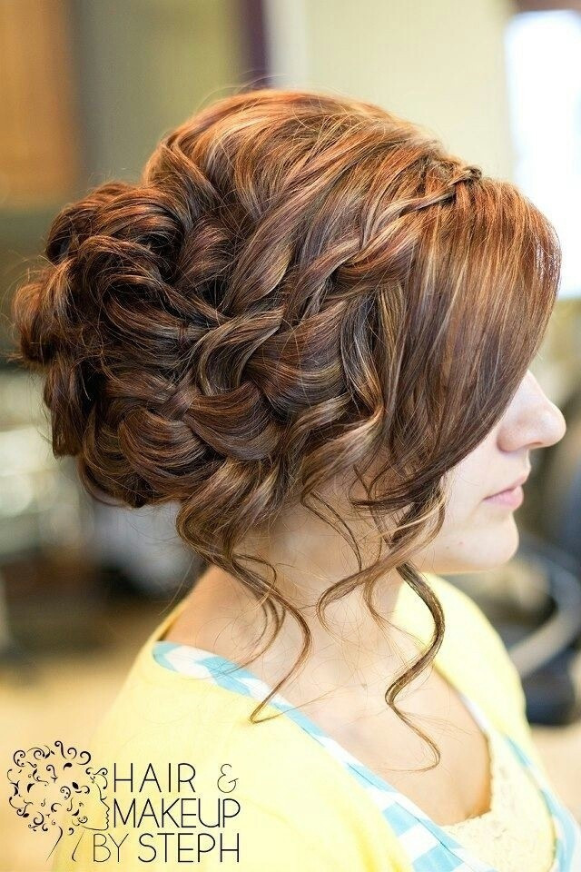 Prom Hairstyles With Braid  16 Great Prom Hairstyles for Girls Pretty Designs