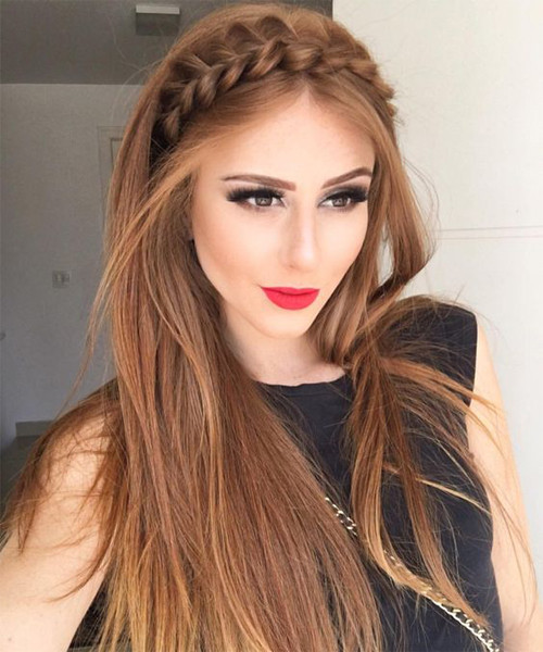 Prom Hairstyles With Headbands  Half up hairstyles 2018 for the prom
