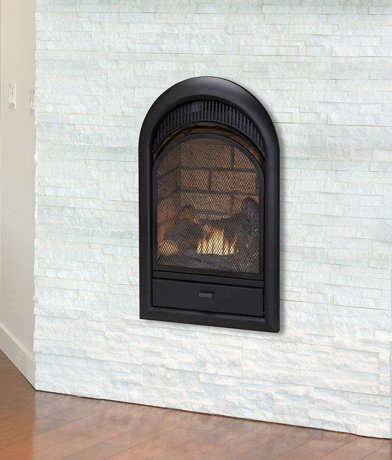 Best ideas about Propane Fireplace Inserts . Save or Pin Duluth Forge Dual Fuel Ventless Natural Gas Propane Now.