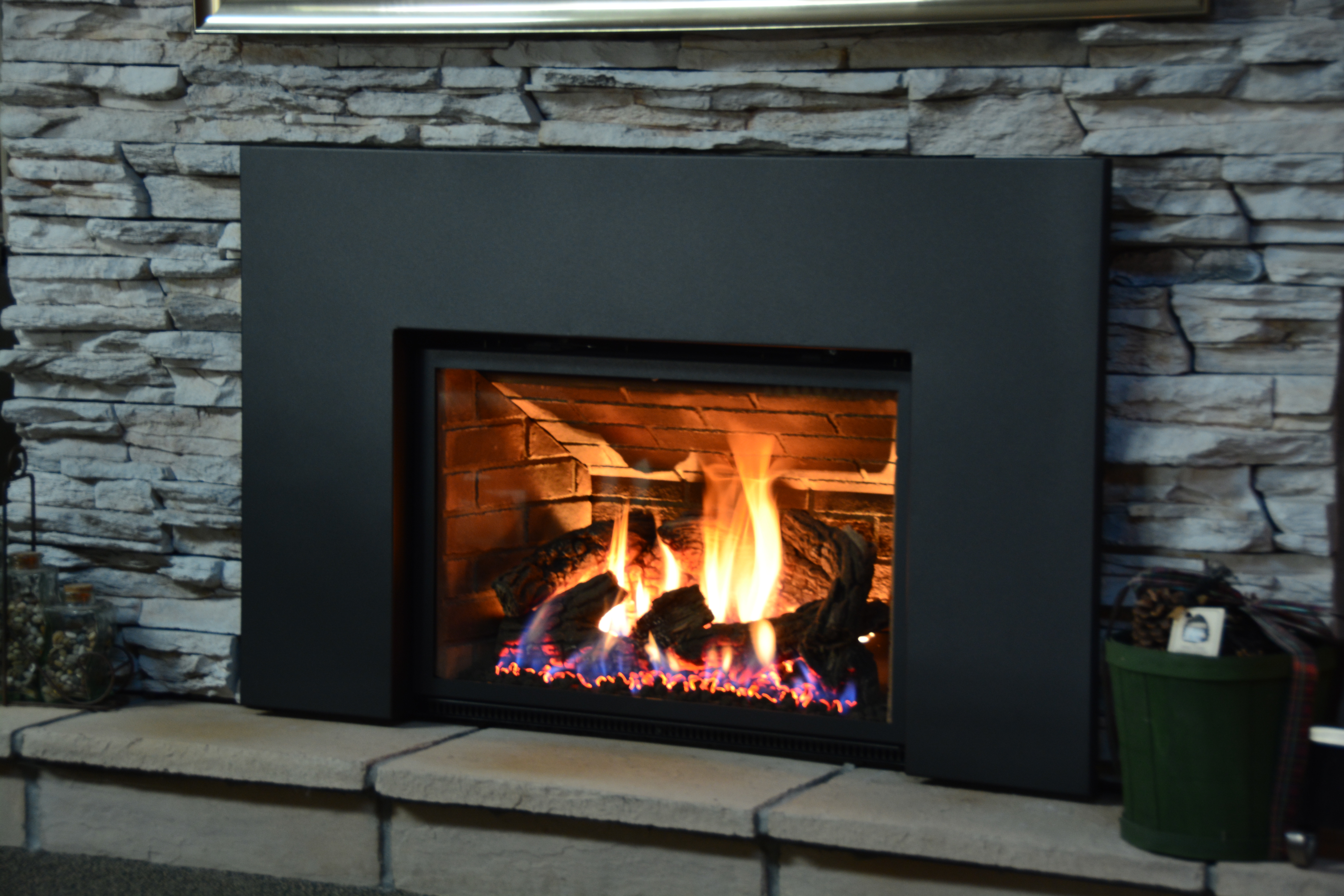 Best ideas about Propane Fireplace Inserts . Save or Pin Ambiance Inspiration Gas Fireplace Inserts Cleveland Now.