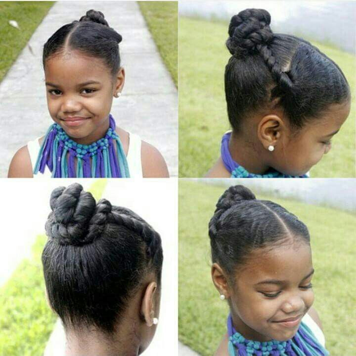 Protective Hairstyles For Kids  554 best images about Natural Hairstyles Children on