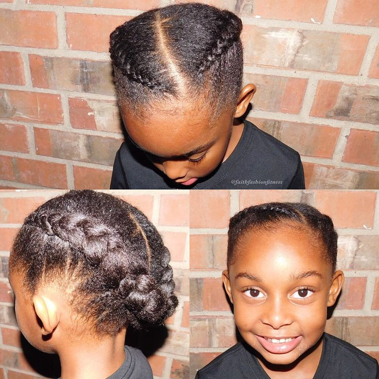 Protective Hairstyles For Kids  60 best images about Natural hairstyles for kids on