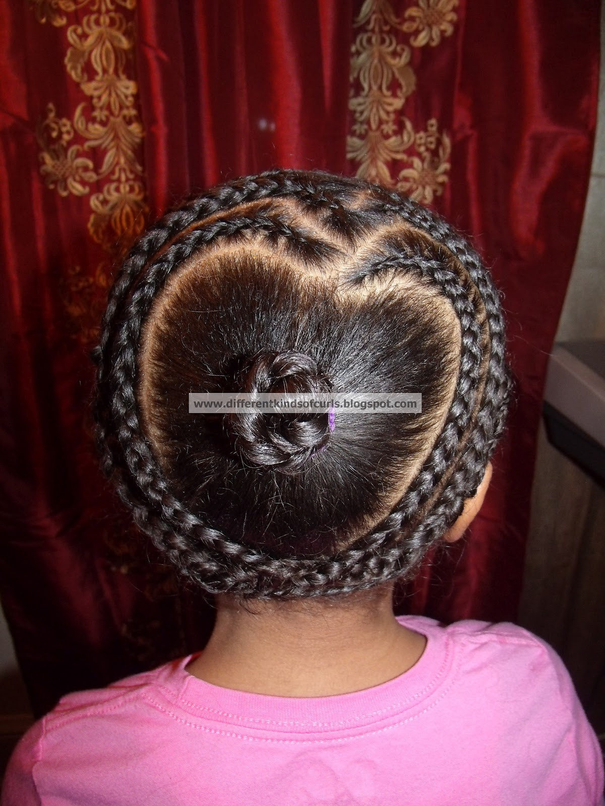 Protective Hairstyles For Kids  Different Kinds of Curls Cute protective Valentine s Day