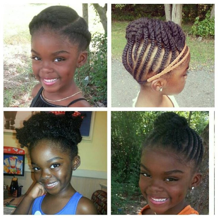 Protective Hairstyles For Kids  natural hair for kids