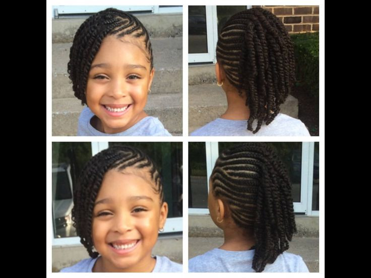 Protective Hairstyles For Kids  Protective kids style My Mini Me
