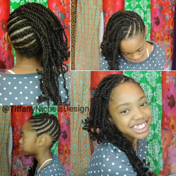 Protective Hairstyles For Kids  Tiffany Nichols Design Natural Hairstyle for Kids