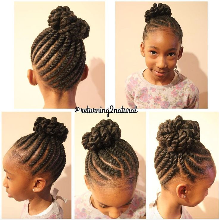 Protective Hairstyles For Kids  17 Best images about Natural hair and braid styles on