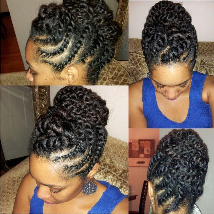 Protective Hairstyles For Natural Hair Growth  HOAX Protective Hairstyles for Natural Hair Maintenance