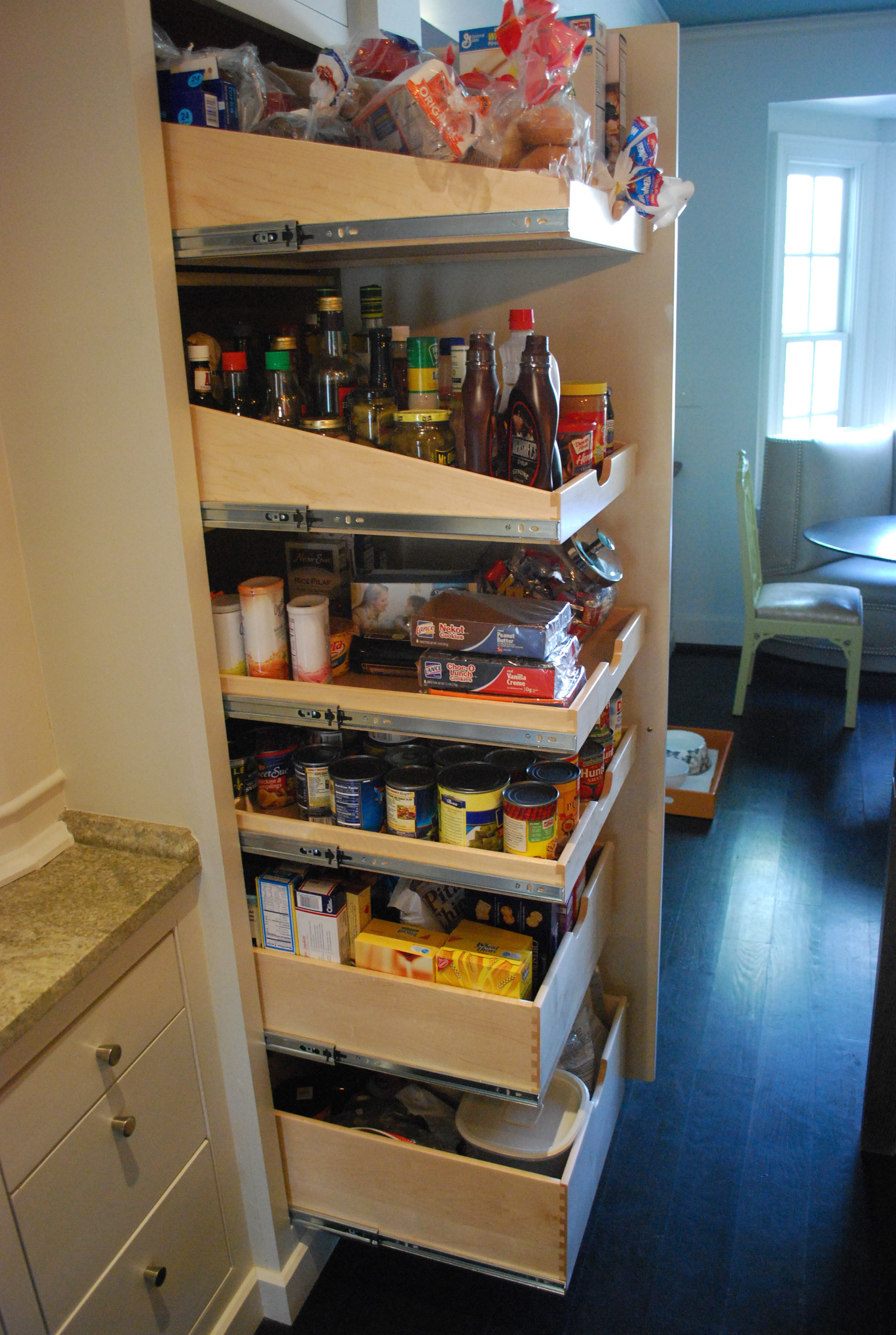 Best ideas about Pull Out Drawers For Pantry . Save or Pin Reinstall Pull Out Pantry Shelves Home Decorations Now.
