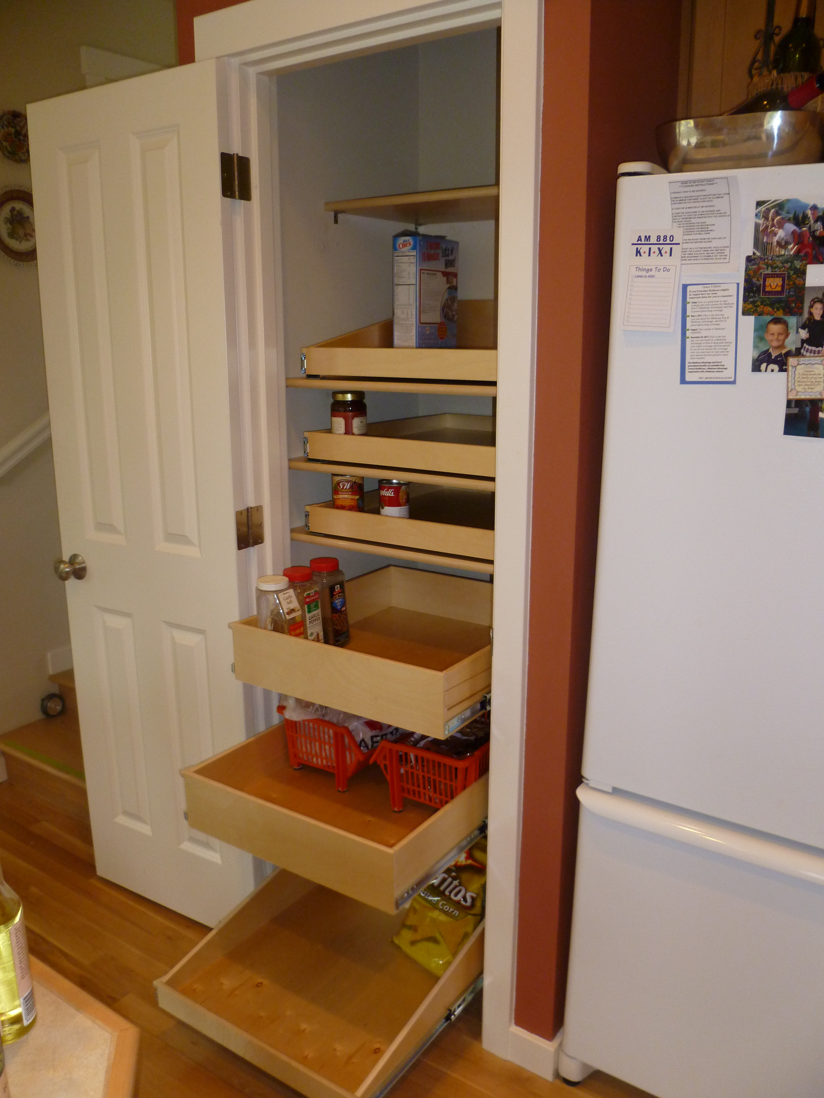 Best ideas about Pull Out Drawers For Pantry . Save or Pin Monterey pull out pantry Now.