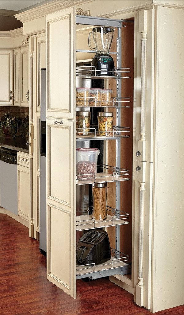 Best ideas about Pull Out Drawers For Pantry . Save or Pin Pantry pull out baskets pull out drawers for pantry Now.