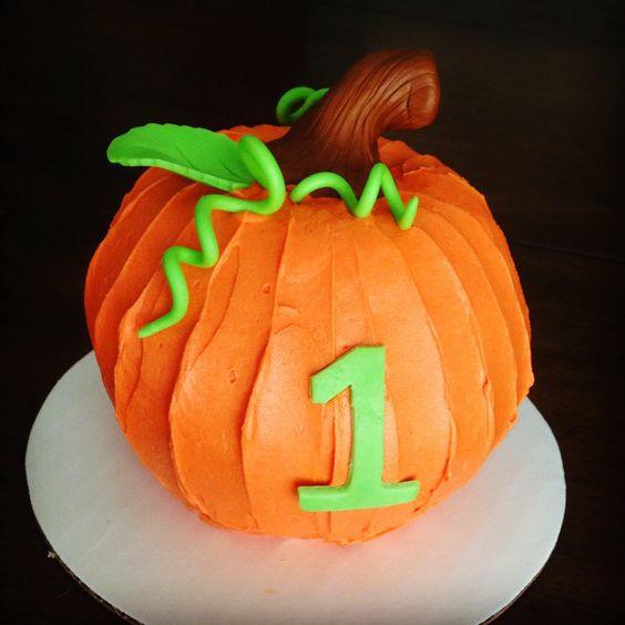 Pumpkin Birthday Cake  j adore gâteau 1st Birthday Cake Pumpkin Smash Cake