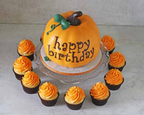 Pumpkin Birthday Cake  Pumpkin Happy Birthday Quotes QuotesGram