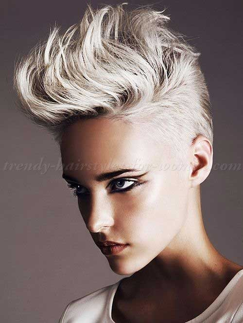 Best ideas about Punk Short Hairstyle . Save or Pin 10 New Punk Pixie Cuts Now.