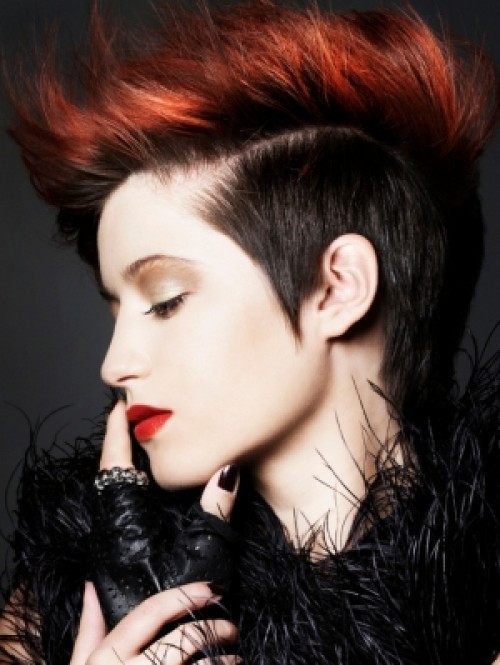 Best ideas about Punk Short Hairstyle . Save or Pin punk hairstyles for women long hair Now.