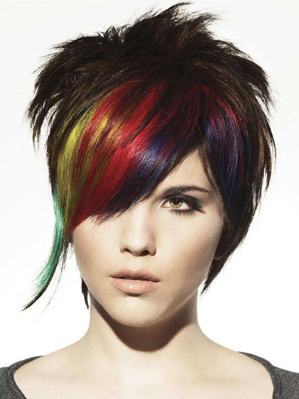 Best ideas about Punk Short Hairstyle . Save or Pin Short Punk Hair Styles Now.