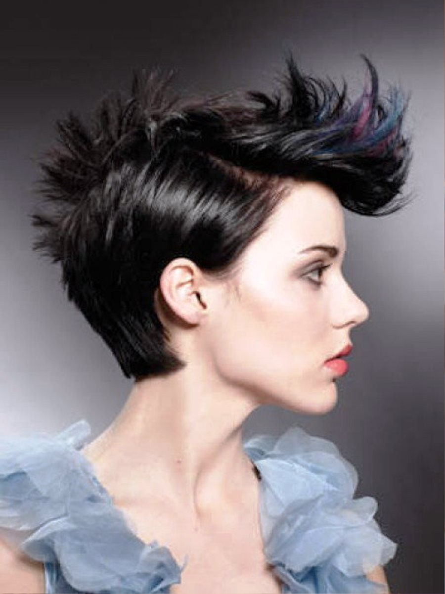 Best ideas about Punk Short Hairstyle . Save or Pin 35 Short Punk Hairstyles To Rock Your Fantasy Now.