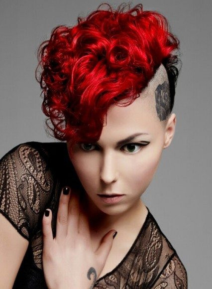 Best ideas about Punk Short Hairstyle . Save or Pin Punk Hairstyles for Curly Hair Now.
