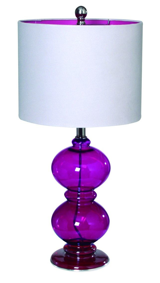 Best ideas about Purple Desk Lamp . Save or Pin Purple Bedroom Decor Purple Bedroom Ideas Now.