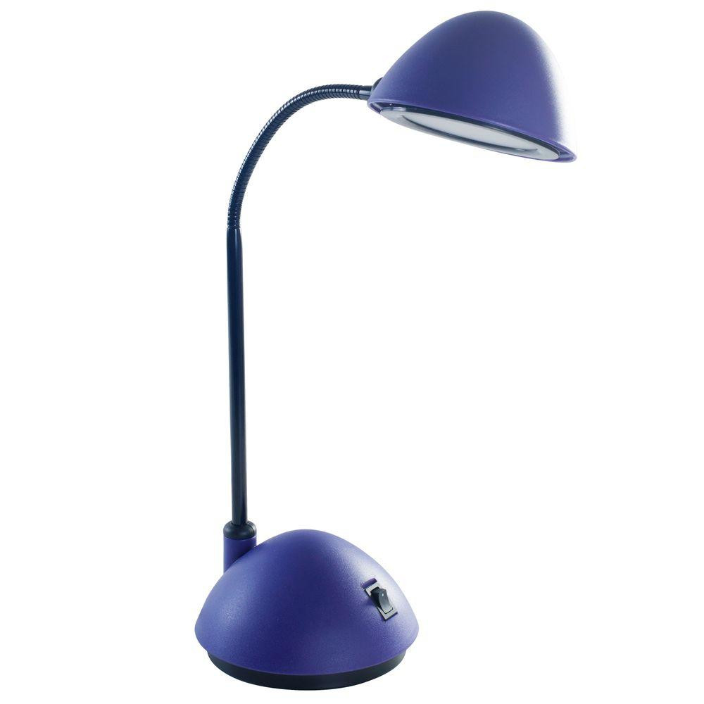 Best ideas about Purple Desk Lamp . Save or Pin Lavish Home 21 in Purple Bright Energy Saving LED Desk Now.