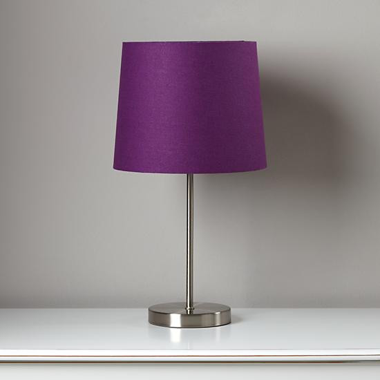 Best ideas about Purple Desk Lamp . Save or Pin Purple glass table lamp A Touch of Purple Sophistication Now.