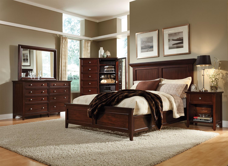 Best ideas about Queen Bedroom Sets . Save or Pin Ellsworth 4 Piece Queen Bedroom Set Cherry Now.