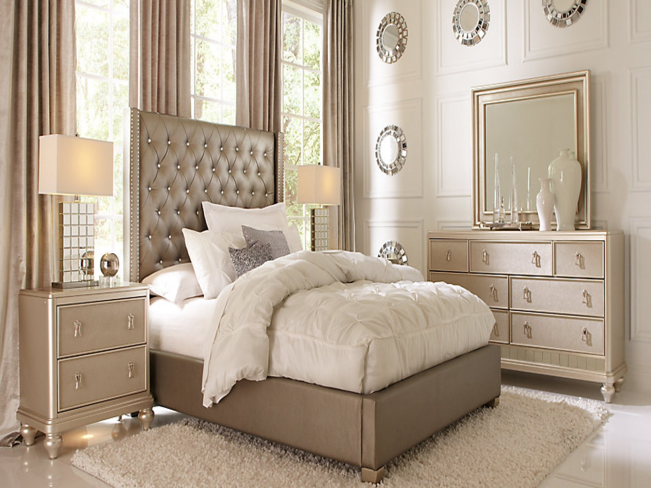 Best ideas about Queen Bedroom Sets . Save or Pin Rooms go bedroom furniture affordable sofia vergara queen Now.