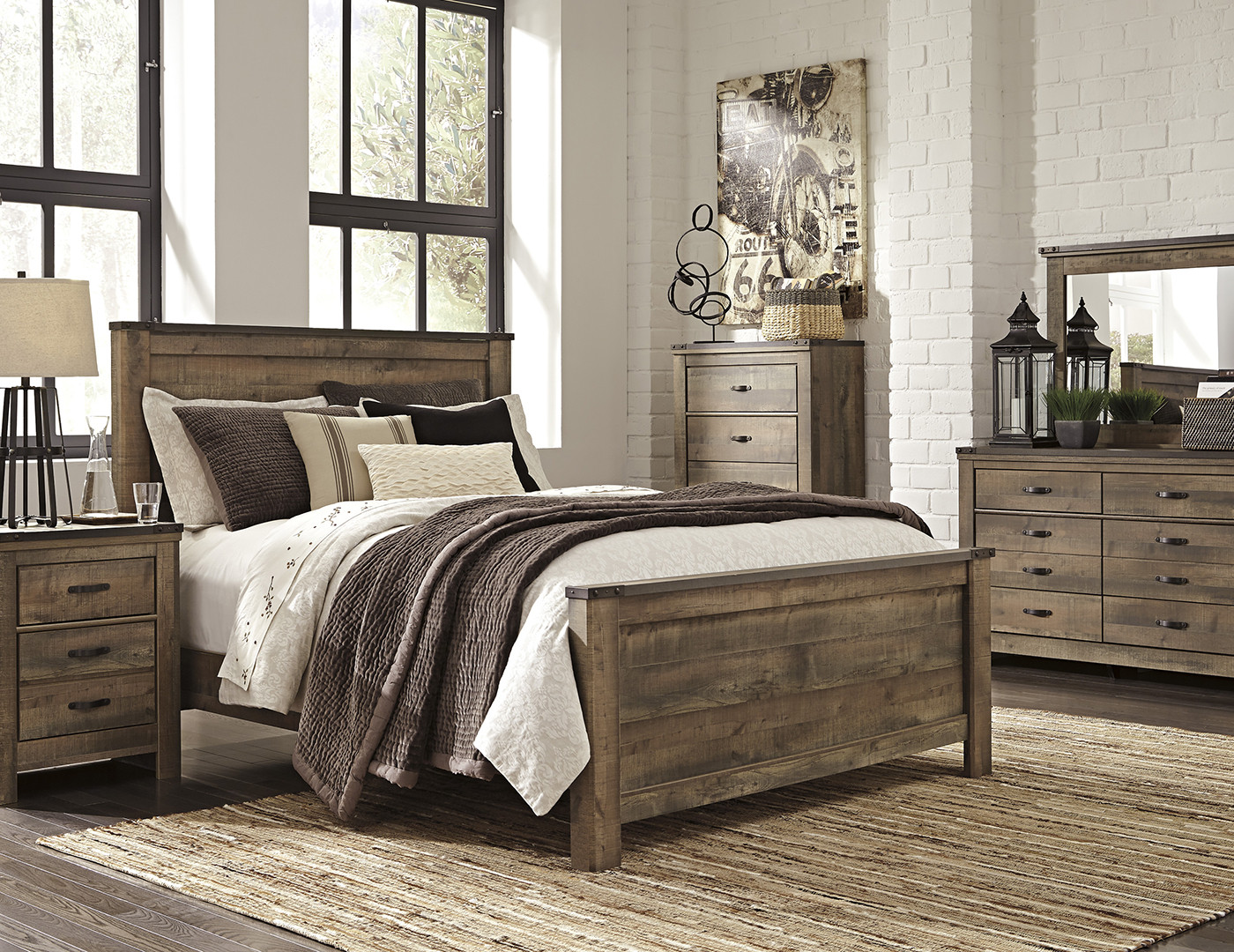 Best ideas about Queen Bedroom Sets . Save or Pin Trinell 5 pc Queen Bedroom Set Now.