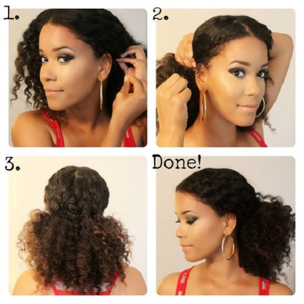 Best ideas about Quick And Easy Natural Hairstyles . Save or Pin 8 Quick & Easy Hairstyles on Medium Short Natural Hair Now.
